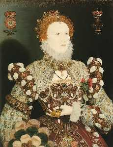 Nicholas Hilliard - Elizabeth I, the Pelican portrait