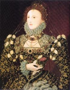 Nicholas Hilliard - Elizabeth I, the Phoenix portrait