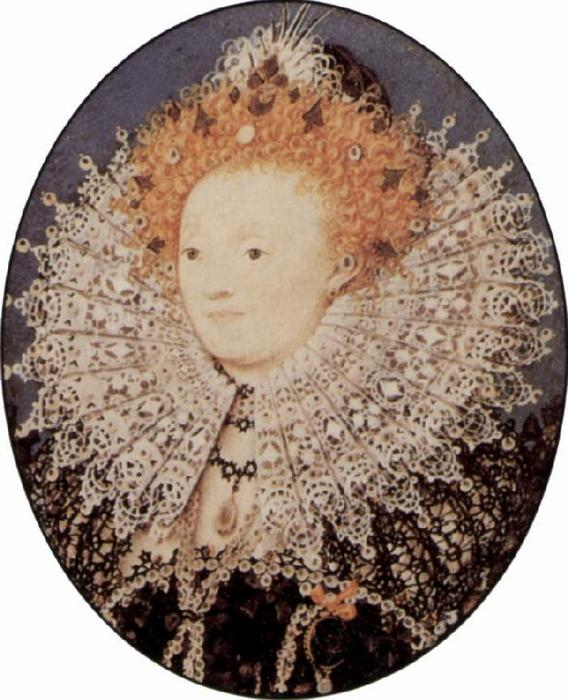 Elizabeth I by Nicholas Hilliard (1577-1619, United Kingdom) | Museum Quality Reproductions | WahooArt.com