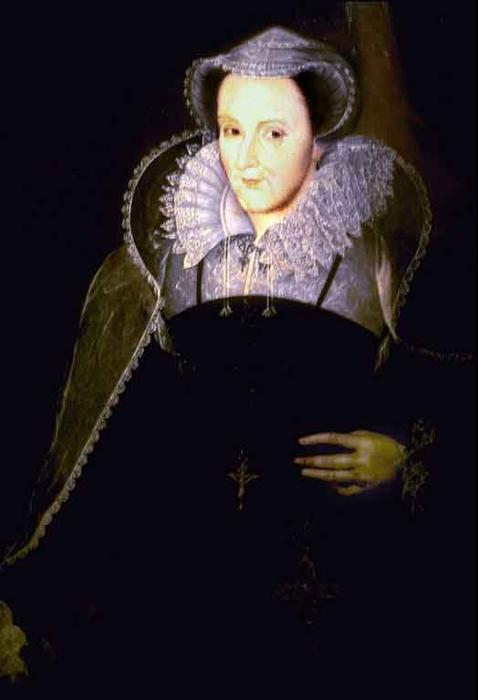 Mary Queen of Scots by Nicholas Hilliard (1577-1619, United Kingdom) | Museum Quality Reproductions | WahooArt.com