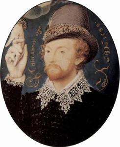 Nicholas Hilliard - Portrait of a stranger