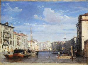Richard Parkes Bonington - View of the Grand Canal in Venice 1