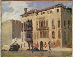 Richard Parkes Bonington - View of the Grand Canal in Venice