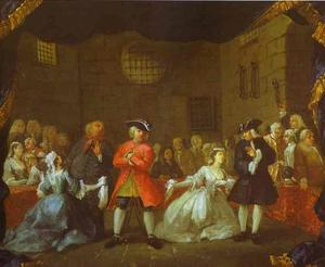 William Hogarth - A Scene from the Beggar-s Opera