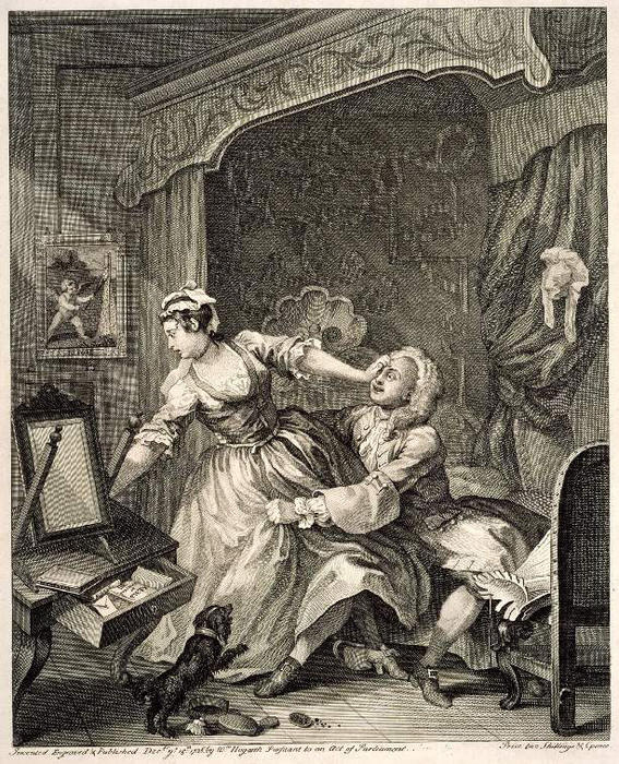 Before 1 by William Hogarth (1697-1764, United Kingdom) | Museum Quality Copies William Hogarth | WahooArt.com