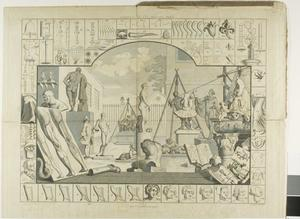 William Hogarth - Plate one, from The Analysis of Beauty