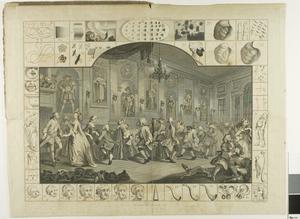 William Hogarth - Plate two, from The Analysis of Beauty