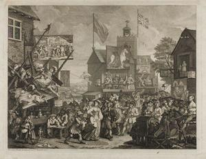 William Hogarth - Southwark Fair_