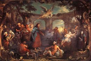 William Hogarth - The Pool of Bethesda