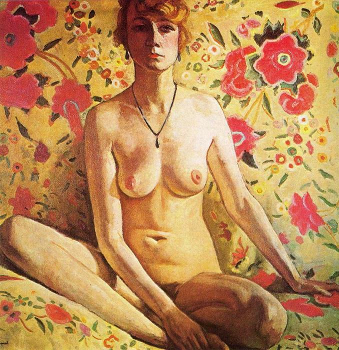 Nude, Oil by Albert Marquet (1875-1947, France)