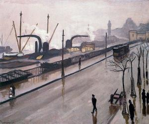 Albert Marquet - The port of Hamburg 2