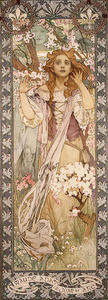 Alphonse Maria Mucha - Joan of Arc