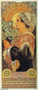 Alphonse Maria Mucha - Thistle from the Sands