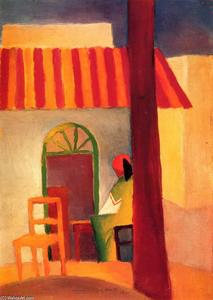August Macke - Turkish Cafe (I)