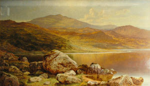 Benjamin Williams Leader - A FINE DAY IN AUTUMN, NORTH WALES