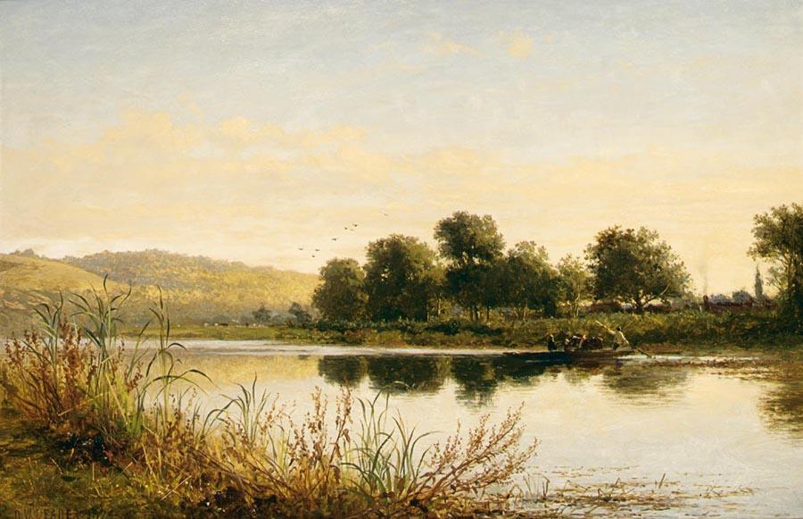 Streatley United Kingdom  city photo : Order Oil Painting Benjamin Williams Leader Streatley On Thames Lakes ...