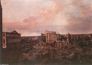 Bernardo Bellotto - Dresden, the Ruins of the Pirnaische Vorstadt