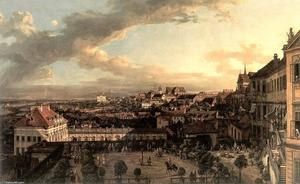 Bernardo Bellotto - View of Warsaw from the Royal Palace
