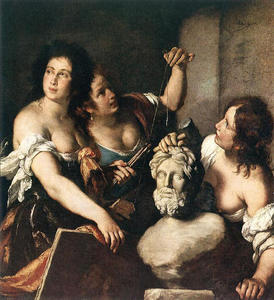 Bernardo Strozzi - Allegory of Arts