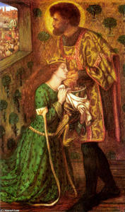 Dante Gabriel Rossetti - Saint George and the Princess Sabra