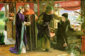 Dante Gabriel Rossetti - The First Anniversary of the Death of Beatrice