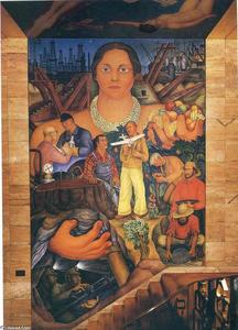 Diego Rivera - Allegory of California