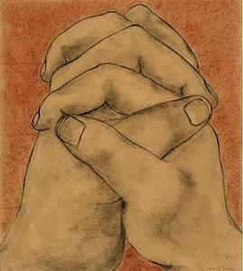 Diego Rivera - Clasped Hands