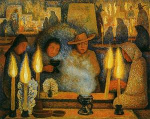 Diego Rivera - Day of the Dead