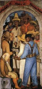Diego Rivera - Death of the Capitalist