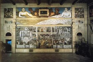 Diego Rivera - Detroit Industry 1