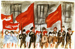 Diego Rivera - May Day in Moscow