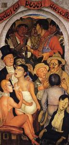 Diego Rivera - Night of the Rich