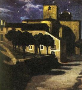 Diego Rivera - Night Scene in Avila