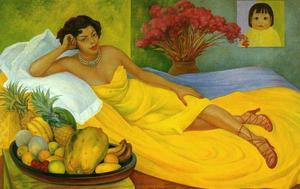 Diego Rivera - Portrait of Sra. Dona Elena Flores de Carrillo