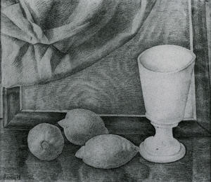 Diego Rivera - Still Life With Lemons