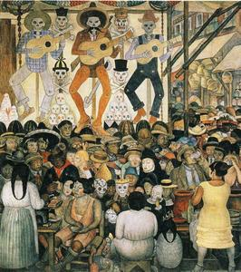 Diego Rivera - The Day of the Dead