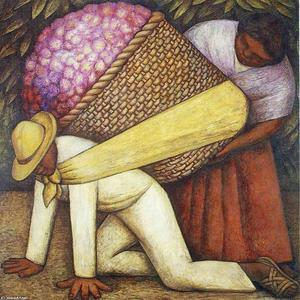 Diego Rivera - The Flower Carrier