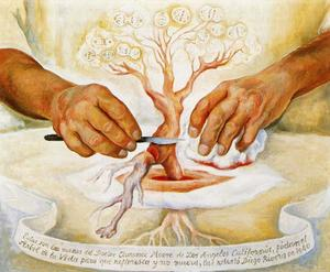 Diego Rivera - The Hands of Dr Moore