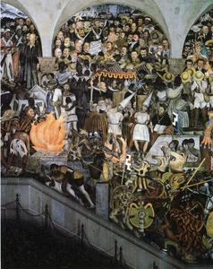 Diego Rivera - The History of Mexico