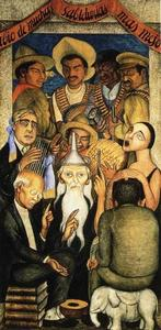 Diego Rivera - The Learned