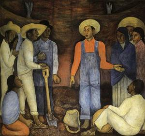 Diego Rivera - The Organization ofThe Agrarian Movement