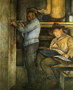 Diego Rivera - The Painter, the Sculptor and the Architect