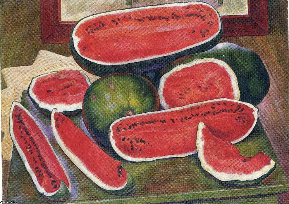 The Watermelons by Diego Rivera (1886-1957, Mexico) |  | WahooArt.com