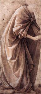 Order Reproductions | Study of Garments, 1491 by Domenico Ghirlandaio (1449-1494, Italy) | WahooArt.com