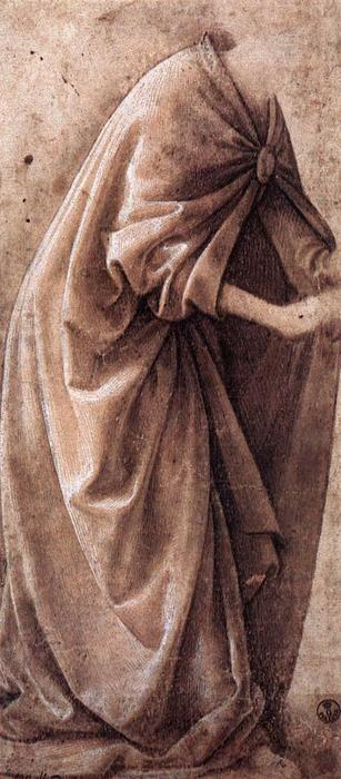 Study of Garments, 1491 by Domenico Ghirlandaio (1449-1494, Italy) | Oil Painting | WahooArt.com
