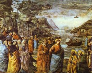 Domenico Ghirlandaio - The Calling of St. Peter