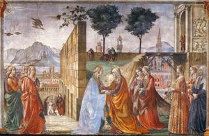 Domenico Ghirlandaio - Visitation 1