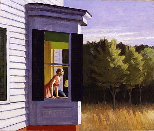Cape Cod Morning, 1950 by Edward Hopper (1931-1967, United States) |  | WahooArt.com