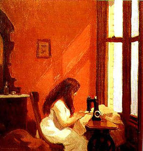 Edward Hopper - Girl at Sewing Machine