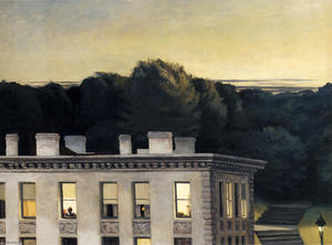 Edward Hopper - House At Dusk